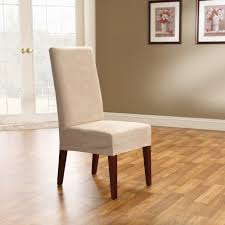 Amazon Com Sure Fit Soft Suede Shorty Dining Room Chair
