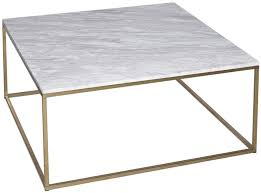 coffee table astonishing gold and gray square modern marble and iron square marble coffee table