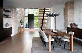 modern mansion dining room. Dining Room In Elegant Modern House West Vancouver, Canada Mansion N