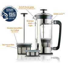 espro p5 french press coffee maker with thick durable glass