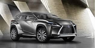 lexus 2015. lexus lfnx compact crossover concept previews production 2015 nx hybrid model