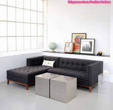 small apartment size furniture. Black Cloth Rental Sectional Apartment Size Sofas With Tufted Chaise Mini Tender Chusion Fashioned Sofa Small Furniture N
