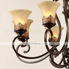 vintage island country candle style chandelier ambient light for