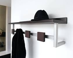 multi hook wall hanger coat racks marvellous wall mounted coat rack with storage coat intended for