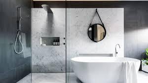 the emerging preference is for largeformat tiling bathroom trends 2017 r81