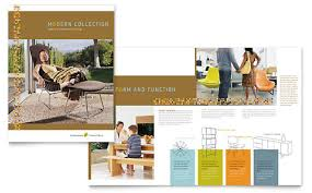 Furniture Store Brochure Template Design