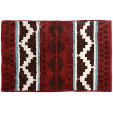 western bathroom rugs hxbw2010ch 2x3 chocolate western