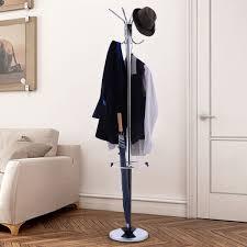 costway 72 metal 3 tiers coat rack tree stand hanger hat umbrella holder entryway