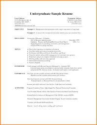 Resume Examples College Student 100 College Student Resume Examples Graphicresume 77