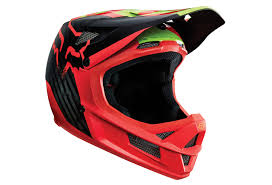 Fox Full Face Helmet Rampage Pro Carbon Libra Mips Red