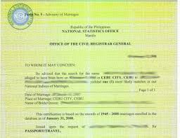 How To Apply For Nso Marriage Certificate - Iweb.ph