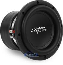 skar audio vvx d vvx series car subwoofer skar audio vvx 8 d2