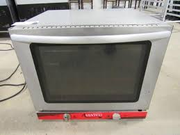 75 avantco co 28 half size countertop convection oven great for making small batches of baked goods snack foods pizzas and warm sandwiches