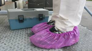 pink shoe covers online -