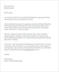 Volunteer Letters Samples Sample Reference Letter Free