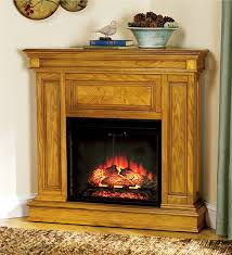 main image for phoenix vent free electric fireplace with realistic led flame