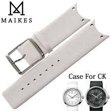 <b>MAIKES New Arrival</b> Genuine Leather Watch Band Strap Soft ...