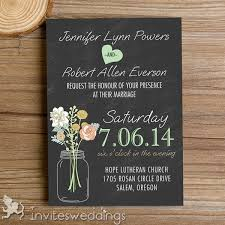 rustic mason jars chalkboard wedding invitations iwi335 wedding Electronic Wedding Invitations Samples rustic mason jars chalkboard wedding invitations iwi335 electronic wedding invitations templates