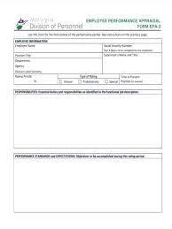 Employee Evaluation Sheet Template Wsopfreechips Co
