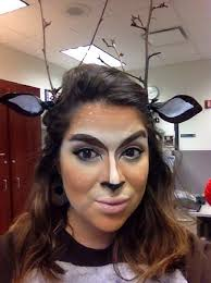 how to create a doe deer bambi makeup look and costume