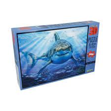 """""""<b>Prime 3D"""" Пазл Super</b> 3D 500 элемент. «Большая белая акула ..."""
