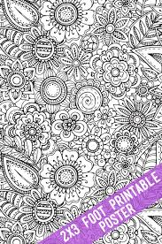 Find & download free graphic resources for printable poster. Printable Coloring Tablecloths And Posters The Crafting Chicks