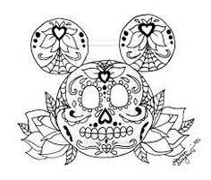 Small Picture sugar skull coloring pages for adults Yahoo Image Search