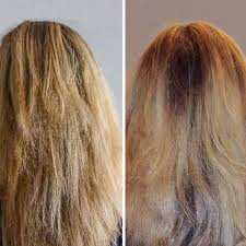 coconut oil before and after photo
