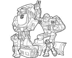 revolutionary rescue bots heatwave coloring page awesome free pages transformers