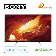 Android Tivi Sony 4K 43 inch KD-43X8500H | Giá rẻ nhất tại Hùng Anh