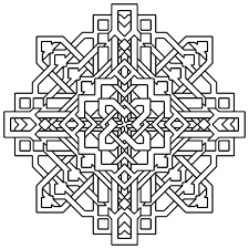 geometric coloring pages for kids. Perfect Pages Geometric Coloring Page Pages  For Kids And For T