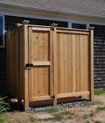 cedar outdoor shower custom design cape cod kits inside prepare 4