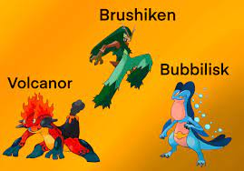 The Final Evolutions! The Gen 3 Starters with alternate types is complete!:  pokemon