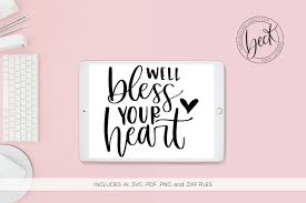 You can choose the most popular free bless your heart gifs to your phone or computer. Bless Your Heart Graphic By Beckmccormick Creative Fabrica Lettering Hand Lettered Svg Hand Lettering