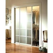 bypass sliding door glass closet doors for bedrooms contractors wardrobe in x in silhouette 5 lite aluminum brushed nickel bypass sliding closet door kits