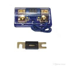car stereo audio led display digital voltage blue base inline anl car stereo fuse keeps blowing at Car Stereo Fuse