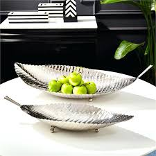 Decorative Bowls And Trays Stainless Steel Decorative Bowls Large Bowl S 100 Leaf Trays bowl 50