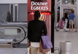 Douwe Egberts Vending Machine Cool This Coffee Vending Machine Gives Yawners A Free Cup Feels Pain