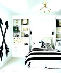 Black White And Gold Bedroom Ideas Room Dorm Decorating Engaging G ...