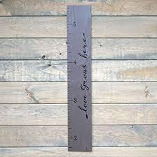 Wooden Height Chart Growth Chart Art Love Grows Here Wooden Height Chart Tribal Wood Growth Chart For Babies Kids Boys Girls Script Gray