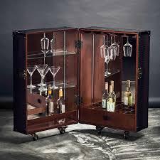 Weißregal Holz Spiegel Mit Hemingway Koffer Bar Mini