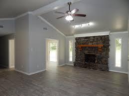 floors: kronoswiss noblesse historic oak 8mm; walls: sherwin williams  repose gray sw 7015