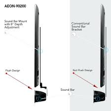 tv and soundbar wall mount perfect for most wall mounts tv wall mounts with soundbar attachment