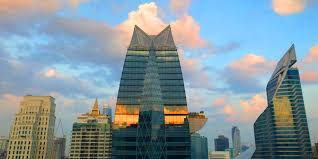 bangkok business hotels review sunrise and blue skies over the new skyline