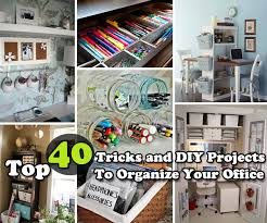Diy office organization Cute Top 40 Tricks And Diy Projects To Organize Your Office Woohome Top 40 Tricks And Diy Projects To Organize Your Office Amazing Diy