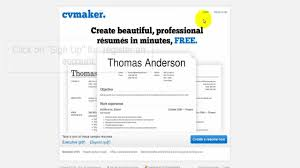 Free Create Resume Online How to create a resume online for free YouTube 77