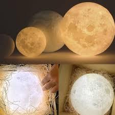 3d magical moon lamp usb led night light moonlight valentines touch sensor ls