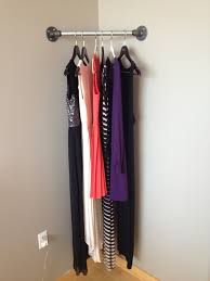 furniture diy clothes rack on wall hanging
