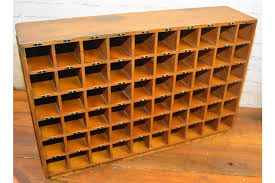 vintage factory furniture. 1930s Oak 60 Pigeon Hole Draw Cabinet Factory Furniture Industrial Antique Vintage Haberdashery Office Storage Photo