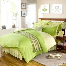 green and yellow duvet covers pure solid pink green yellow purple bedding set include duvet cover